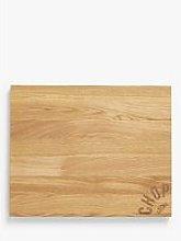 LEON Oak Wood Chopping Board, L42cm, Natural