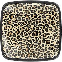 Leopard Pattern Design 4 Packs Kitchen Cabinet