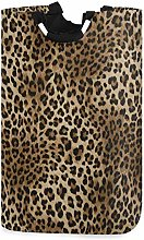 Leopard Print Laundry Hamper Laundry Basket Dirty