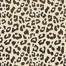 Leopard Print Spots Pattern Stencil | Home Wall