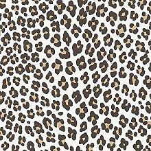 Leopard Print Wallpaper Bedroom Wallpaper Paste