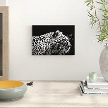 Leopard Tiger Photographic Print Big Box Art