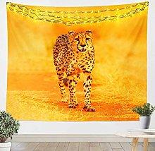 Leopard Wall Hanging Safari Cheetah Print Tapestry