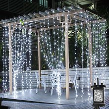 Lepro Outdoor Gazebo Lights Mains Powered, 3m x 3m