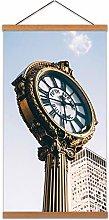 Lerone Fifth Avenue Clock New York City Canvas