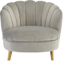 Leroy Tub Chair Canora Grey Upholstery Colour: Grey