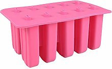 LERTREE 10 Cell Silicone Ice Cream Molds Ice
