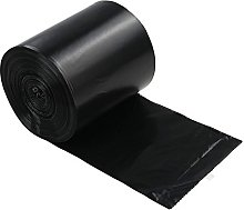 Lesbye 40L Black Trash Bag, Bin Bags Pack of 125