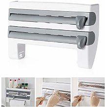 lesgos Kitchen Roll Dispenser for Foil Cling Film