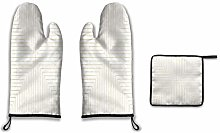 Lesif Oven Mitts and Pot Holders,converge three
