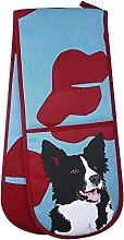 Leslie Gerry Collie Double Oven Glove