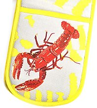 Leslie Gerry Lobster Double Oven Glove