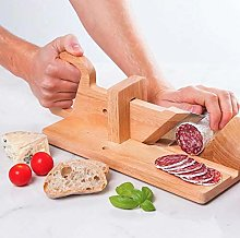 Leslien Sausage-Slicer with Stainless Steel Blade