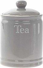 Lesser & Pavey Classic Grey Ceramic Tea Canister