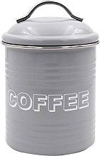 Lesser & Pavey Sweet Home Coffee Canister, Metal,
