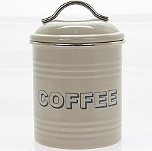 Lesser & Pavey Sweet Home Coffee Canister-Sage,