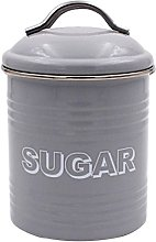 Lesser & Pavey Sweet Home Sugar Canister, Metal