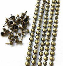 Let's Decorate 10 Meters D9.5mm Brass Plated
