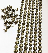 Let's Decorate 5 Meters 11mm Brass Flower