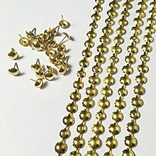 Let's Decorate 5 Meters 11mm Gold Plated