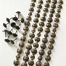 Let's Decorate 5 Meters 16mm Antique Plated