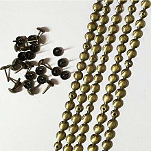 Let's Decorate 5 Meters 9.5mm Brass Plated