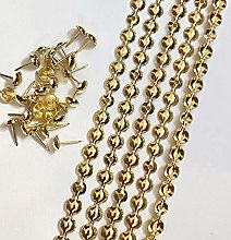 Let's Decorate 5 Meters 9.5mm Gold Plated