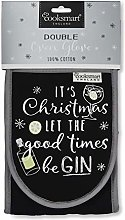 Let The Good Times Be Gin Double Oven Glove