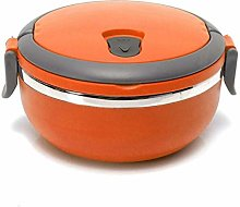 letaowl Thermal Lunch Box Stainless Steel Round 1