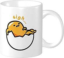 LETNNTOPE Lazy Egg Gud-etama Ceramic Coffee Mug