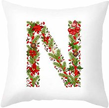 Letter N-Z Cushion Cover 45x45 Christmas