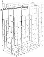 Letterbox Cage | No Fixings Required | White Mail