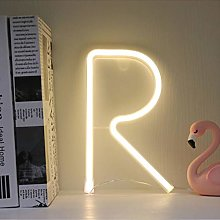 Letters Neon LED Light Sign R Alphabet A-Z Marquee