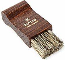Lettro Shoe Polish Applicator Brush, Wooden Shoe