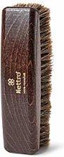 Lettro Shoe Polishing Brush - Wooden Brush for