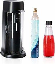 LEVIVO Glass Home Soda Maker JUICE, carbonates