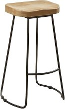 Levon 71cm Bar Stool Union Rustic
