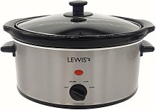 Lewis's 3.5L Stainless Steel Slow Cooker