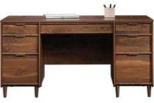 Lewis Executive Desk, Grand Walnut