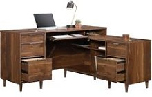 Lewis L-Shaped Desk, Grand Walnut