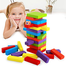 Lewo Classic Building Blocks Stacking Games For