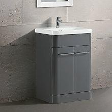 Lex Freestanding Bathroom Vanity Unit Ceramic