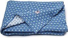 LEXINGTON Baby Bedspread 90x110 blue