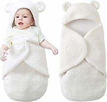 Leyeet Newborn Baby Swaddle Blanket, Stroller Soft