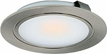Leyton 3w 12v LED recessed downlight stainless