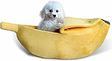 lffopt Dog Cave Bed Cat Cave Pet Beds For Dogs Dog