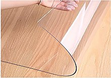 LFHCW Clear Table Cover PVC Tablecloth Transparent