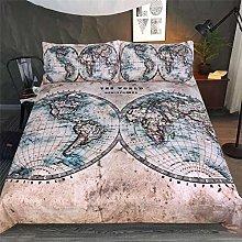 LFOFRP Duvet Cover Sets Double Size - 3 Pieces
