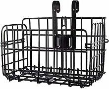 LFOZ Storage basket Folding Metal Wire Bicycle