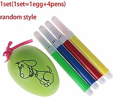 LFR2 DIY Handmade Easter Egg, Gifts Plastic